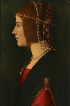 Beatrice d'Este, Leonardo Da Vinci