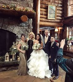 Lodge wedding