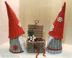 VK is the largest European social network with more than 100 million active users. Straw Bag, Wicker, Photo Wall, Weaving, Christmas, Crafts, Baskets, Paper Envelopes, Manualidades
