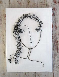 wire wire flower girl