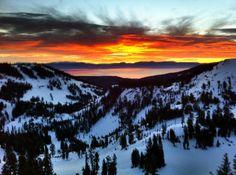 amazing lake tahoe photography from @SkiAlpine