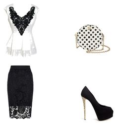 """""""A night out"""" by almedina-86 ❤ liked on Polyvore featuring Dorothy Perkins, Dolce&Gabbana and Giuseppe Zanotti"""