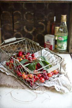 Cherry Jam with Honey, Black Pepper, and Orange Blossom - #recipe