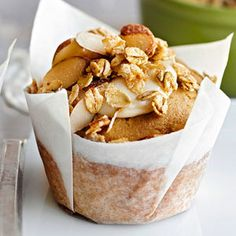 Maple Crunch Muffins From Better Homes and Gardens, ideas and improvement projects for your home and garden plus recipes and entertaining ideas.