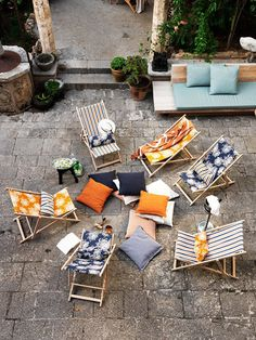 outdoor furnishings by linum photographed by Jonas Ingerstedt / sfgirlbybay