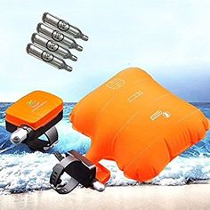 Amazon.com : Anti-drowning Bracelet, Floating Wristband, Swimming Safety Device, Water Aid Lifesaving Vests, Wearable Water Buoyancy Aid Device- Inflatable Gasbag with 4 Cartridges/ Shipped from USA : Sports & Outdoors