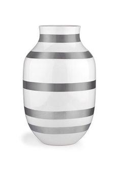 Omaggio Silver vase #Large #Khäler