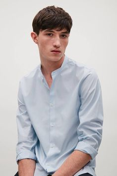 COS Cos Fashion, Fashion Outfits, Cos Man, Grandad Shirts, Latest Clothes For Men, Dress Up, Shirt Dress, Well Dressed Men, Man Shop