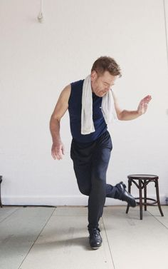 Kenneth Branagh in action