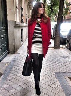 Rojo para el invierno | Galería de fotos | Mujerhoy.com