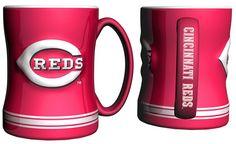 Cincinnati Reds Coffee Mug - 14oz Sculpted