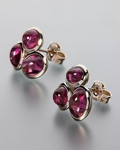 Sogni d'oro Ohrstecker mit Turmalin - von Sogni d´oro #sognidoro #sogni #doro #schmuck #edelstein #earring #jewelry #gemstone