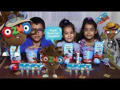 Ozmo Mega Çikolata Atıştırmalıklar  Ozmo Sürpriz Yumurta Ve  Hoppo Çocuk...