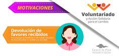 Motivaciones para ser un Voluntario -  #Voluntariado #CaracoldePlata