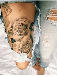 Roses - leg piece