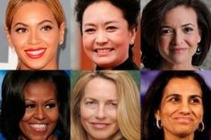 Redefining Power: The Worlds 100 Most Influential Women   - You many need to Search Forbes for the section.  Very interesting Choices!