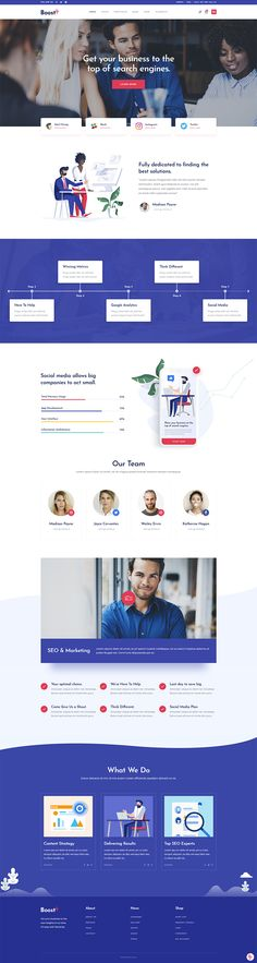 With BoostUp WordPress theme creating a modern business website is as easy as it gets! Professional Wordpress Themes, Marketing Professional, Social Marketing, Digital Marketing, Online Presentation, Wordpress Website Design, Website Design Company, Seo Agency, Business Website