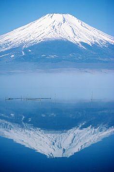 Winter photo(Mount Fuji)