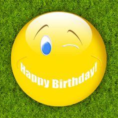 happy birthday smile - Verjaardagskaarten - Kaartje2go