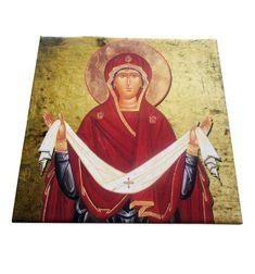 Religious Icons, Religious Gifts, Catholic Gifts, Catholic Art, Christian Gifts, Christian Art, Tile Murals, Tile Art, Tiles