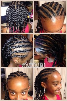 Phenomenal 1000 Images About Hairstyles Braids For Kids And Adults On Hairstyles For Men Maxibearus
