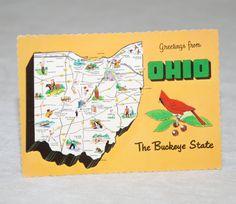 Vintage Ohio Postcard