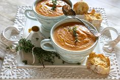 Carrot Coconut Soup 003 by Hungry Housewife, via Flickr