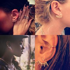 Obsessed: Jacquie Aiche's Ear Jackets | The Zoe Report