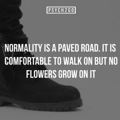 No flowers on a normal road...