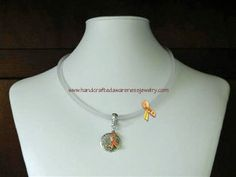 CRPS/RSD Neoprene HOPE Necklace item# NHN  Price: $26.00