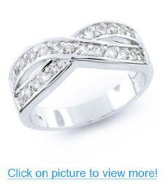 Valentines Day Gifts Bling Jewelry 925 Sterling Pave CZ Le Cercle Infinity Ring #Valentines #Day #Gifts #Bling #Jewelry #Sterling #Pave #CZ #Le #Cercle #Infinity #Ring