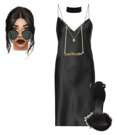 """""""Untitled #1280"""" by beautyqueen-927 ❤ liked on Polyvore featuring Yves Saint Laurent, Charlotte Russe, RetroSuperFuture and Lipsy"""