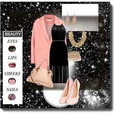 Pink by bluejess on Polyvore featuring moda, Forever New, Chloé, Hive & Honey, Annette Ferdinandsen and Bobbi Brown Cosmetics