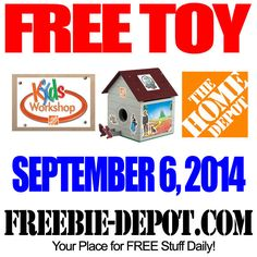 FREE Birdhouse at Home Depot