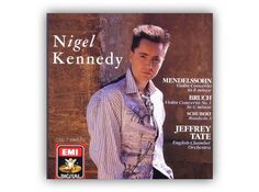 Who knew that Nik Kershaw took a classical detour in the 80s? Only kidding. But it does seem that the great Nigel Kennedy has controversially decided to print his score on his waistcoat. It's a nice idea, not sure how it'll work in concert.