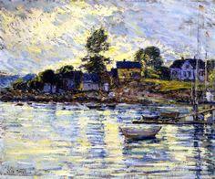 Gloucester Harbor (Frederick Childe Hassam )