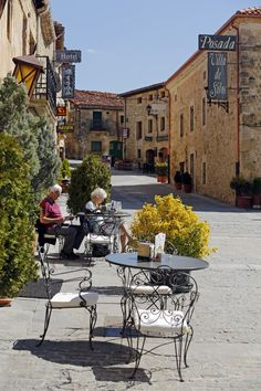 Santo Domingo de Silos Pinares Burgos España