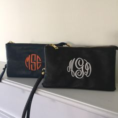 A personal favorite from my Etsy shop https://www.etsy.com/listing/245727535/monogrammed-crossbody-bag-black-leather