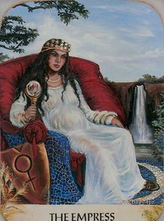 III. The Empress - Ancestral Path Tarot by Julie Cuccia - Watts
