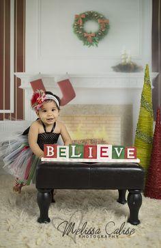 Melissa Calise Photography (Holiday Mini Session Photo Shoot Posing Ideas Baby Girl)