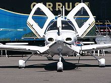 Cirrus sr22 - No Metal Detectors!  And, do the math.  I'll beat you anywhere in about a 600 mile circle.