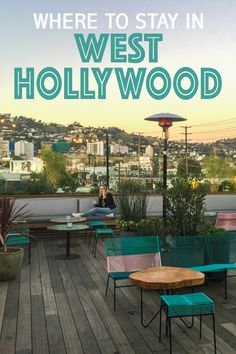 With a welcoming atmosphere, WeHo is one-of-a-kind. Here's my ultimate West Hollywood travel guide, with where to stay and play on your trip to Los Angeles! Visit California, Hollywood California, Burbank California, Los Angeles Accommodation, Oh The Places You'll Go, Places To Travel, Travel Destinations, West Hollywood Hotels, Hollywood Homes
