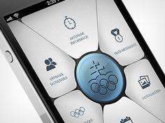 olympic app concept  by Martin Schurdak