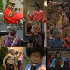 """I still can't believe that Martin Lawrence was so easily able to transition between """"wise-cracking,"""" radio personality Martin (the show's name sake) and these other epic characters like Sheneneh Jenkins (""""Oh my goodness..."""" lol)..."""