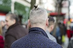 The man bun Undercut hairstyle is a spin-off of the slicked back Undercut. As you can see in the picture of a man bun Undercut, the hair is buzzed very short as per the regular Undercut haircut while Man Bun Undercut, Undercut Hairstyles, Hair And Nails, The Man, Hair Cuts, Buns, Hair Styles, Google Search, Modern