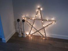 Grote Houten Sterren.Dit Is Een Leuk En Simpel Zelfmaak Kerst Idee Diy Crochet