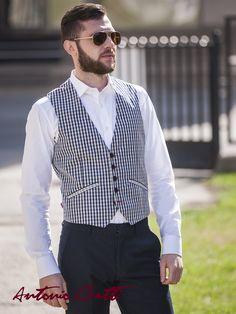 #fashion #men #waistcoat #casual Men's Waistcoat, Smart Casual, Costume, Fashion Men, Dresses, Style, Elegant, Jacket, Vestidos