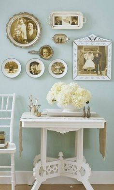 paint your front door pink to welcome in the spring? spend a day making a gorgeous family tree? use vintage plates as frames for old photographs? have the hubby take the kids out to breakfast while you have breakfast in bed? You may also like: Why Don't You: Simplicity Edition Why Don't You…Leisure Edition Why …