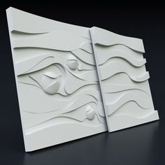 Delicious *binding* 3d Decorative Wall Panels 1 Pcs Abs Plastic Mold For Plaster Always Buy Good Ceramics & Pottery