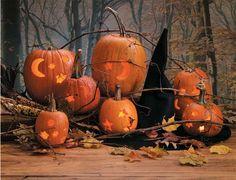 Several Halloween ideas.